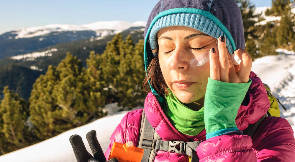 Why you need to wear sunscreen in winter. It's more important than you think.
