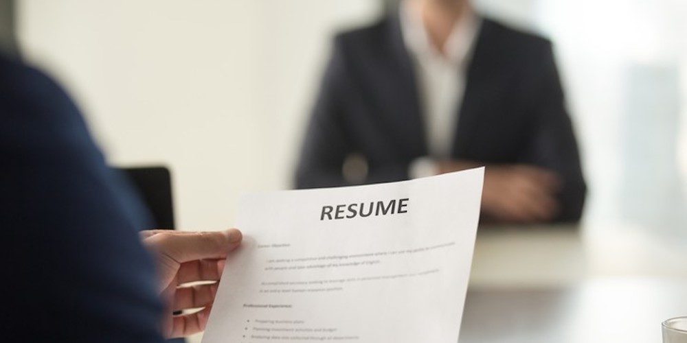 Bringing a paper copy of your resume can be the difference of getting or not getting the job. Specially if technology fails.
